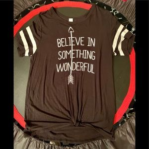 New WO tags no boundaries women's Top size Large